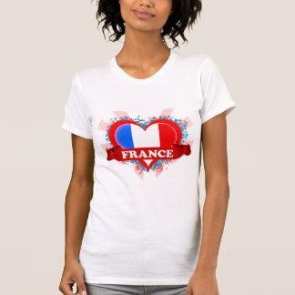 Vintage I Love France T-shirt