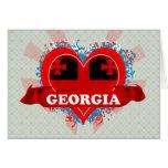 Vintage I Love Georgia Cards