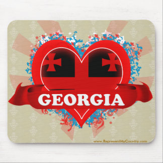 Vintage I Love Georgia Mouse Pad