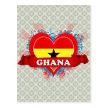 Vintage I Love Ghana Post Cards