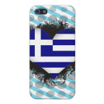 Vintage I Love Greece iPhone 5/5S Case