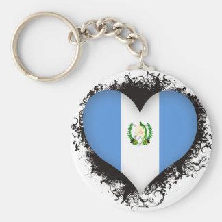 Vintage I Love Guatemala Keychain