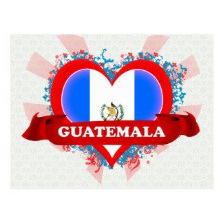Vintage I Love Guatemala Postcard