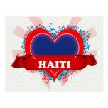 Vintage I Love Haiti Post Cards