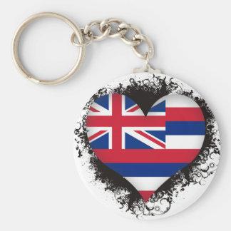 Vintage I Love Hawaii Key Chain