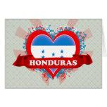 Vintage I Love Honduras Card