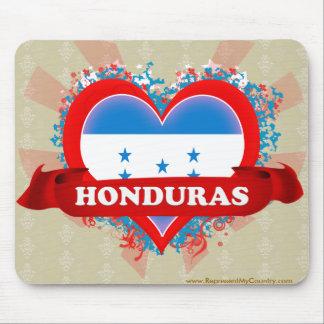 Vintage I Love Honduras Mousepad