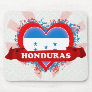 Vintage I Love Honduras Mousepads