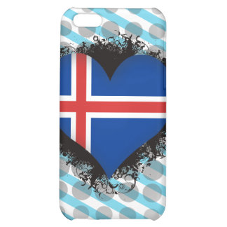 Vintage I Love Iceland Cover For iPhone 5C