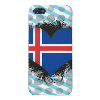 Vintage I Love Iceland Cover For iPhone 5