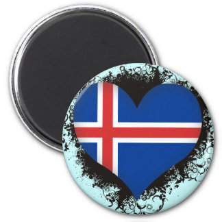 Vintage I Love Iceland Fridge Magnets