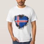 Vintage I Love Iceland Shirt