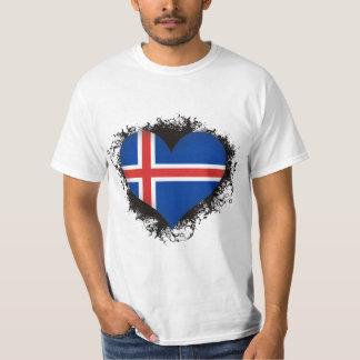 Vintage I Love Iceland T-Shirt