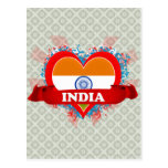 Vintage I Love India Post Cards