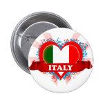 Vintage I Love Italy Pin
