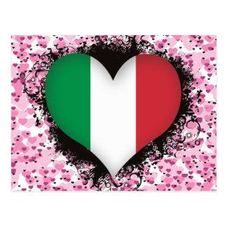 Vintage I Love Italy Postcards
