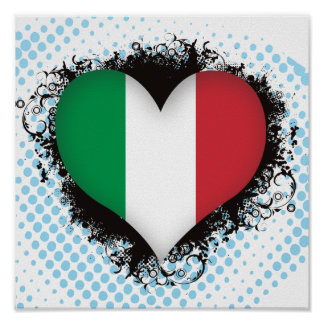 Vintage I Love Italy Posters