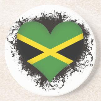 Vintage I Love Jamaica Coasters