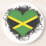 Vintage I Love Jamaica Drink Coasters