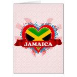 Vintage I Love Jamaica Greeting Cards