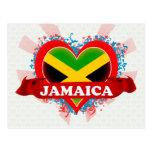 Vintage I Love Jamaica Postcards