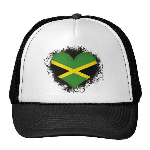 Vintage I Love Jamaica Trucker Hat