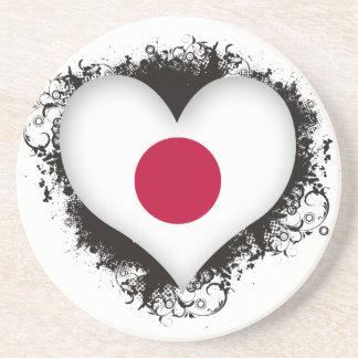 Vintage I Love Japan Coaster
