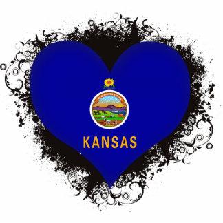 Vintage I Love Kansas Cut Outs