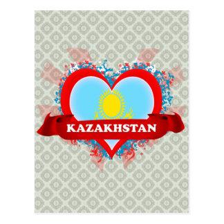 Vintage I Love Kazakhstan Post Cards