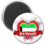 Vintage I Love Kuwait Refrigerator Magnets