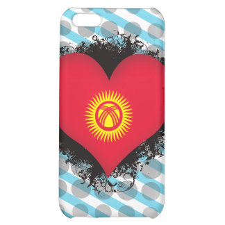 Vintage I Love Kyrgyzstan Cover For iPhone 5C