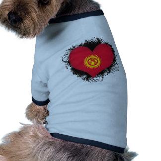 Vintage I Love Kyrgyzstan Dog Shirt