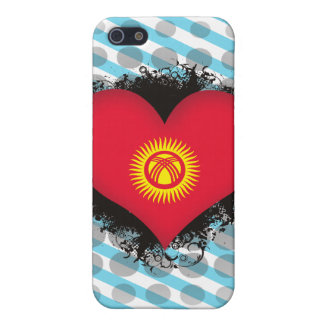 Vintage I Love Kyrgyzstan iPhone 5/5S Cover