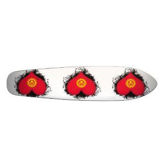 Vintage I Love Kyrgyzstan Skate Board