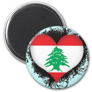 Vintage I Love Lebanon Magnet