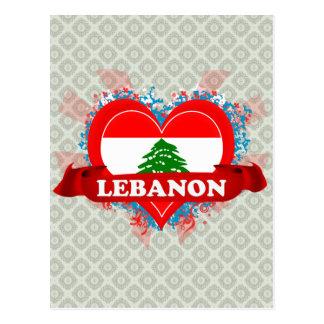 Vintage I Love Lebanon Post Cards