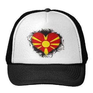 Vintage I Love Macedonia Trucker Hat