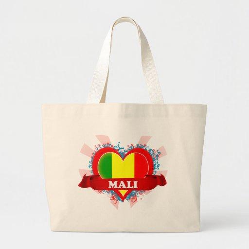 Vintage I Love Mali Bags