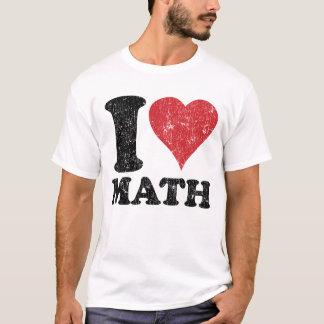 Vintage I Love Math  Basic T-Shirt