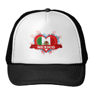 Vintage I Love Mexico Trucker Hat