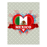 Vintage I Love Mexico Post Card