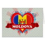 Vintage I Love Moldova Cards