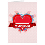 Vintage I Love Monaco Greeting Cards