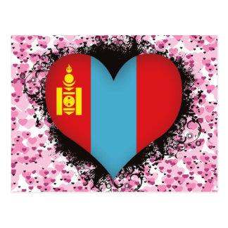 Vintage I Love Mongolia Post Cards