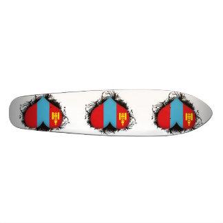 Vintage I Love Mongolia Skateboard Decks