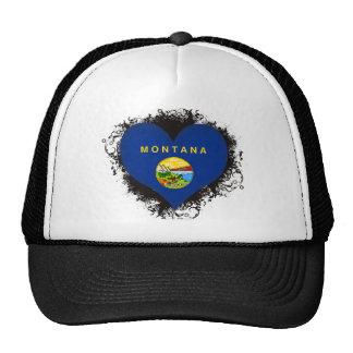 Vintage I Love Montana Mesh Hats
