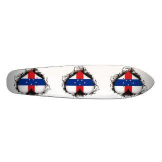 Vintage I Love Netherlands Antilles Skate Boards
