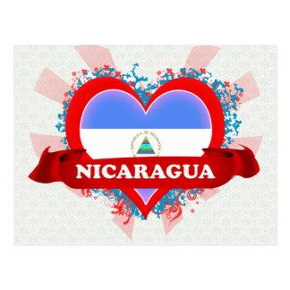 Vintage I Love Nicaragua Post Cards