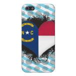 Vintage I Love North Carolina Case For iPhone 5