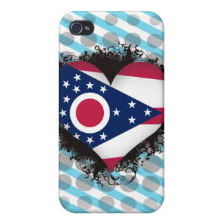 Vintage I Love Ohio iPhone 4 Cover